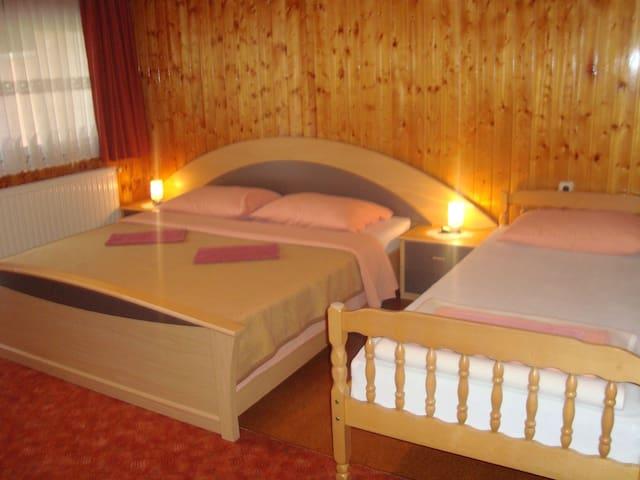 Room, in Slunj near Plitvice national park