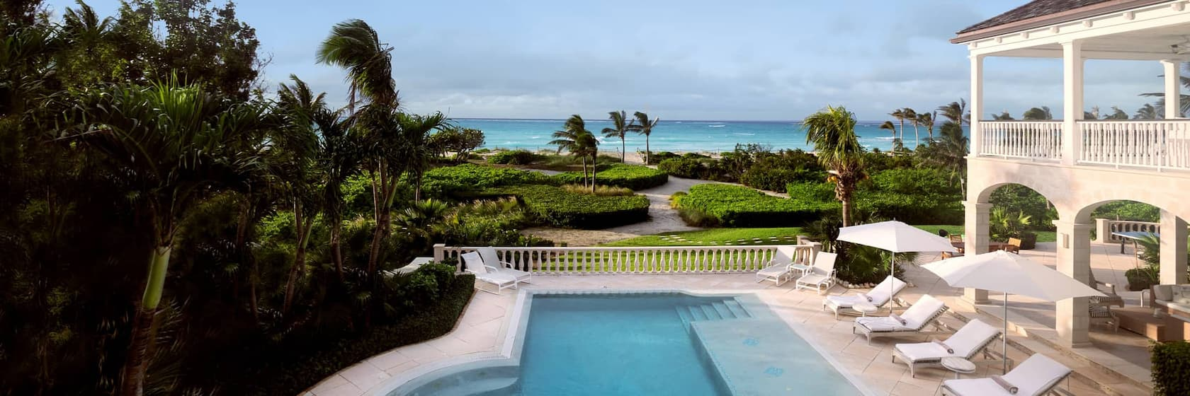 Luxury rentals in Turks and Caicos Islands
