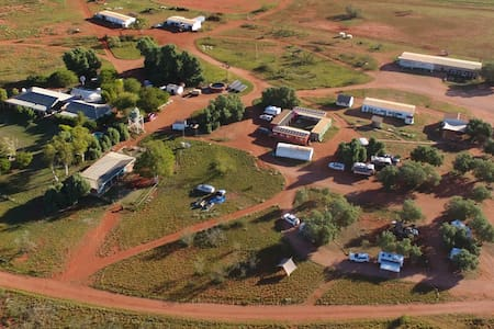 Budget Double Accommodation in the outback