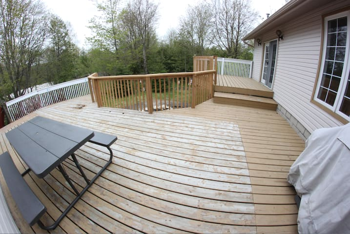 extra large deck