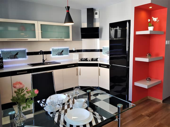 APARTMENT LUXURY OASIS-2 Śródmieście DOWNTOWN 3 os