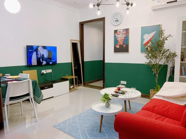 杨箕双地铁、珠江新城、太古汇附近高层合租房