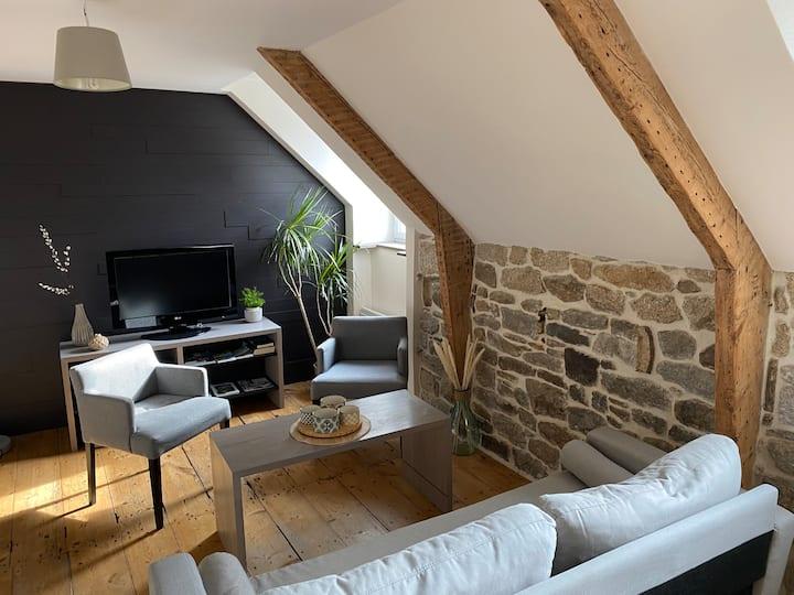 Charmant appartement T3 centre historique de Dinan