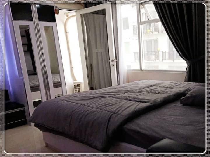 Green Studio Lux jarrdin apartement