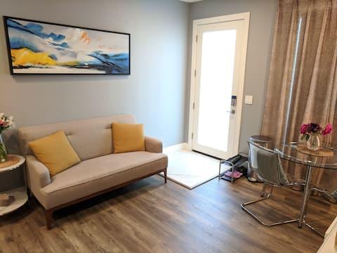 Sunnyvale'de modern tek yatak odalı dünür ünitesi