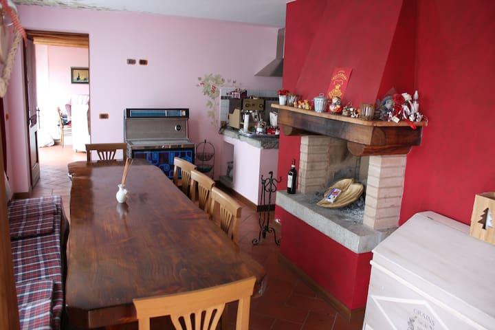 Casa dol Marchèt (Green views close to Bergamo)