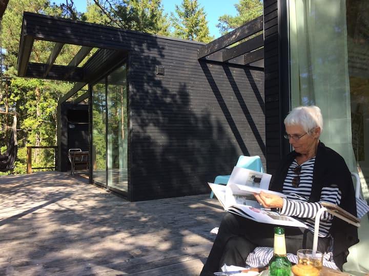 Dansk designad hus i Stockholms skärgård