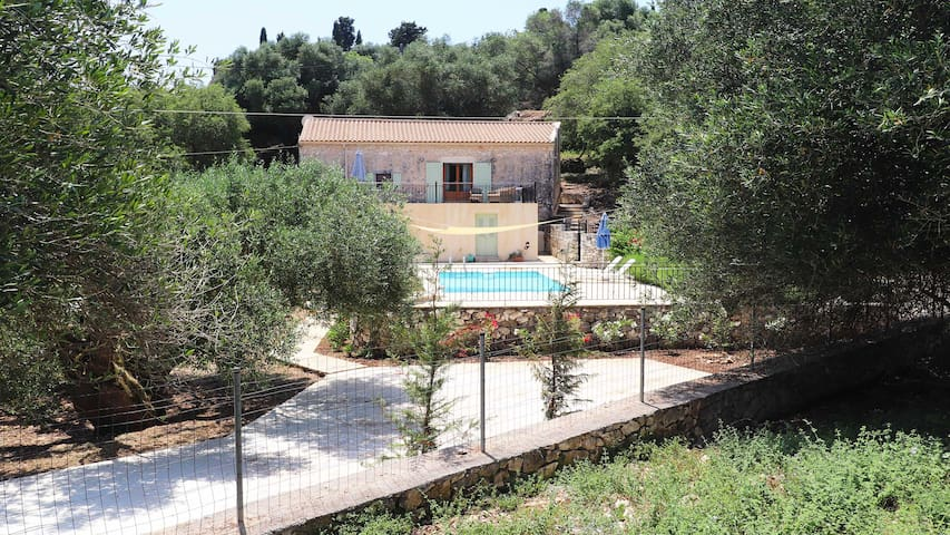 Olive Press Psilithrias, near Fiskardo, Kefalonia
