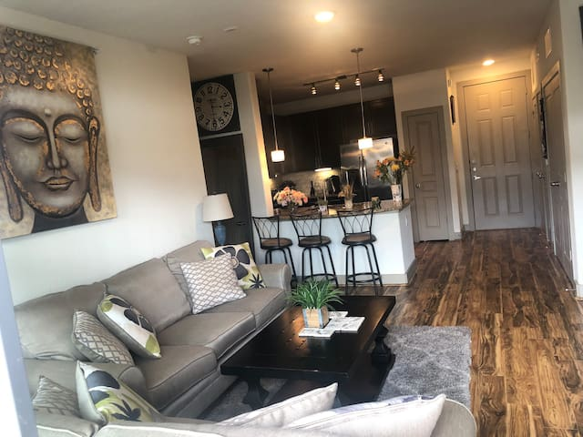 Cute/Modern Guest Room close to DT & Domain