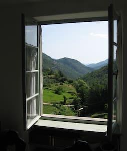 Traumhafte Wohnung mit Ausblick - Rezzo - Huoneisto