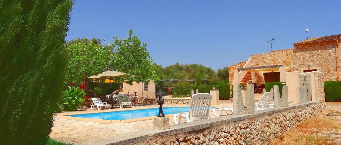 M4V2830 Villa mit Pool bei Felanitx; max. 6 Pers. - Felanitx - Villa