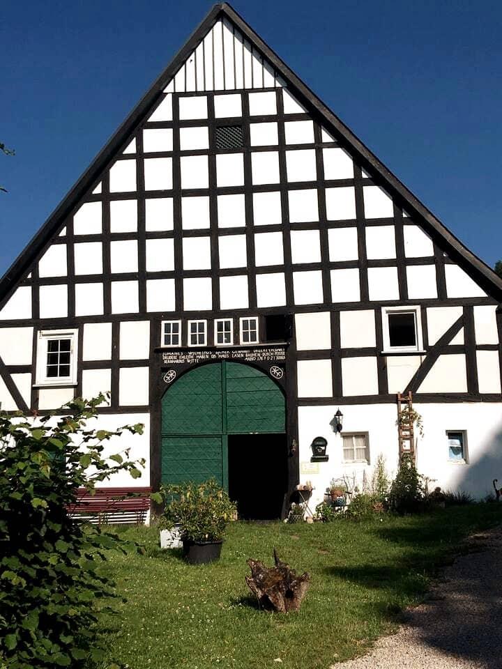 Zu Gast im alten Bauernhaus