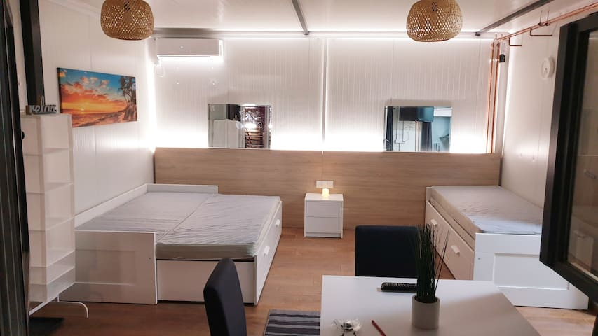 ❤Cosy Novi Sad loft,hot tub,Sauna, self check-in❤