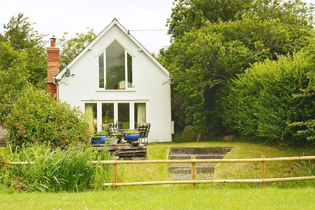 The Old Chapel, sleeping 4, is a unique, beautifully appointed country cottage