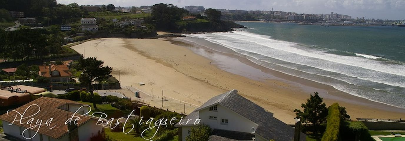Piso Bastiagueiro próximo a la playa