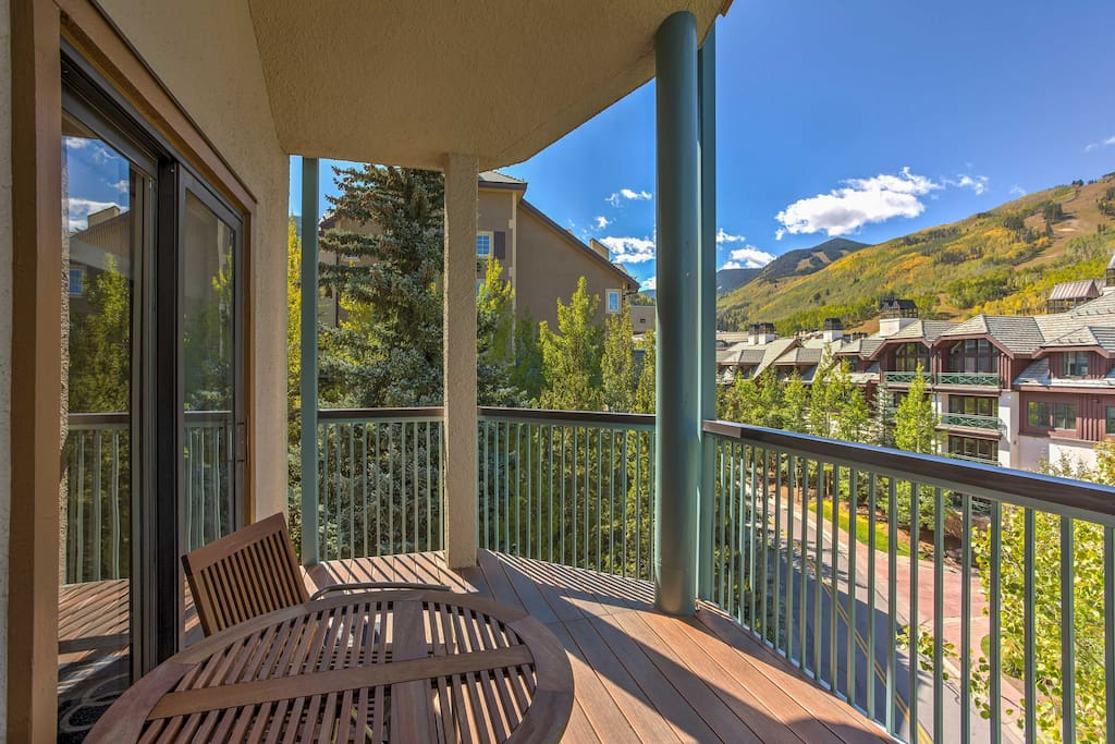 This 3-bed, 4-bath vacation rental condo in Beaver Creek is ready to impress.