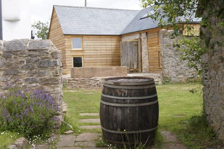 Contemporary  Barn House near Stoke Gabriel