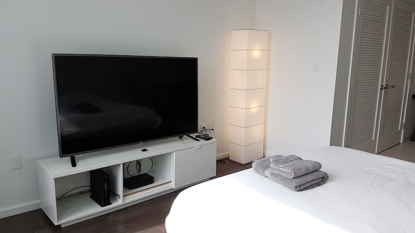 Big Tv with Cable Tv
