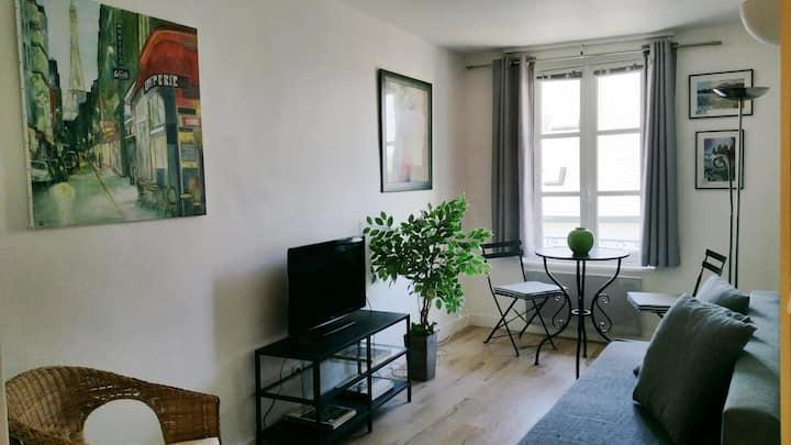 Duplex avec chambre mansardée entièrement rénové