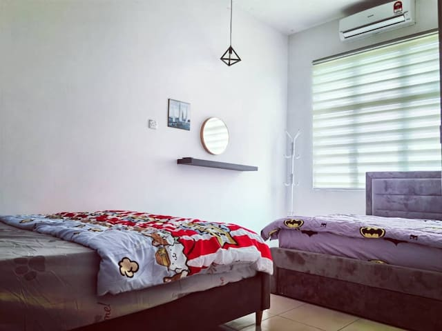 🎉Promotion🎉Semi D Homestay 1R2B For 4 Guest