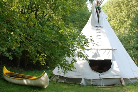 Teepee in the woods - Zatoń Dolna - Tipi
