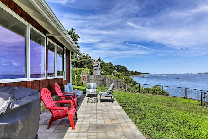 Waterfront Portsmouth Cottage: 8 Mi. From Newport!