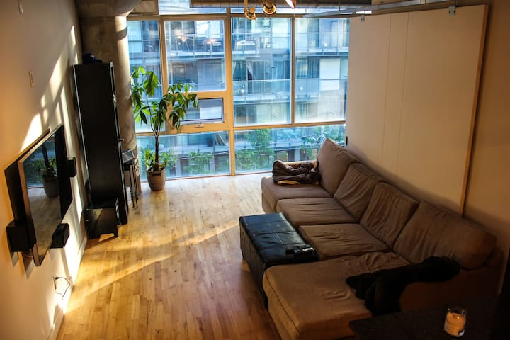 Spacious Loft in heart of King West