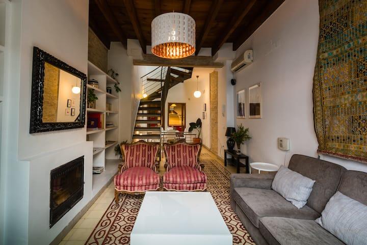 Casa en Alameda con terraza y jacuzzi (opcional)