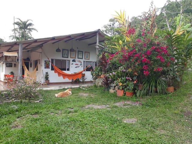 Casa de campo. Disfrute naturaleza por días...Eco!
