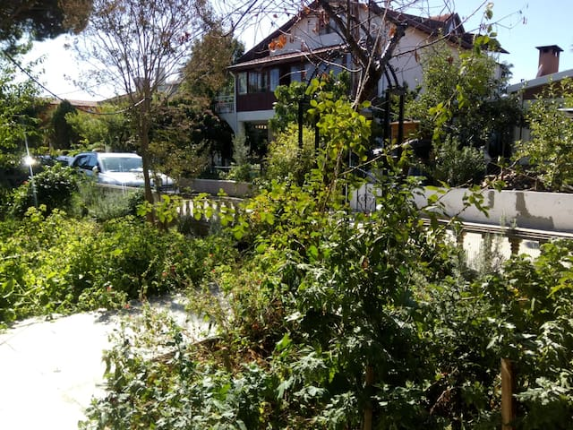 3+1 Guarded Villa, Big Garden, Close to the Beach