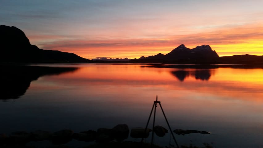 Amazing Sea House in magic Lofoten - Bøstad - Rumah