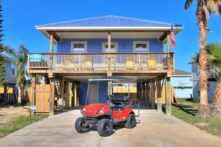 Summer Salt: Large Private Pool, Free Golf Cart, Close to Town