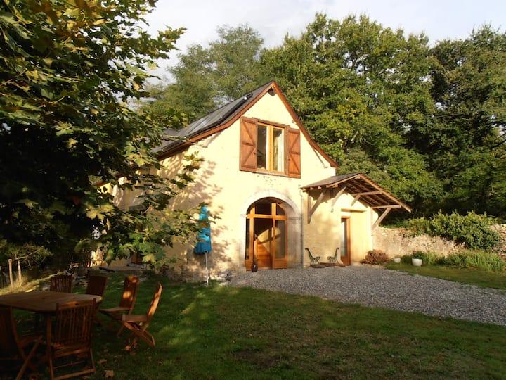 Une ancienne grange rénovée dans les Pyrénées