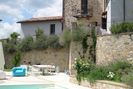 VILLAGE APARTMENT WITH  POOL - San Venanzo