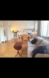 Spacious and cosy appartment near Hornstull - Stokholm - Daire