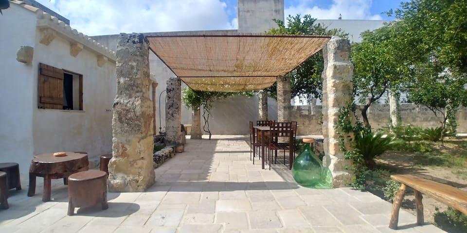 Giardino Patio Zona pranzo all' aperto