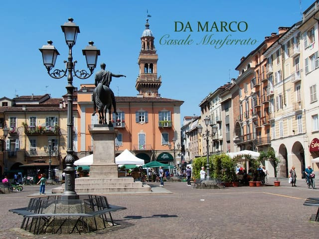 A due passi dal centro! - Casale Monferrato - Apartemen