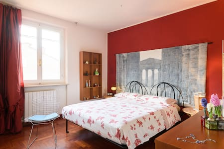 Siena room in house with pool - San Rocco A Pilli - House