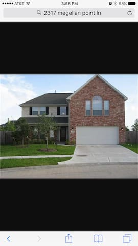 Clean, cozy, and convenient home - Pearland - Casa