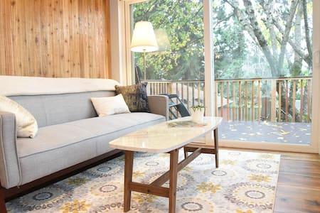 The Treehouse - bright & cozy loft in SE Portland - Portland - Apartment