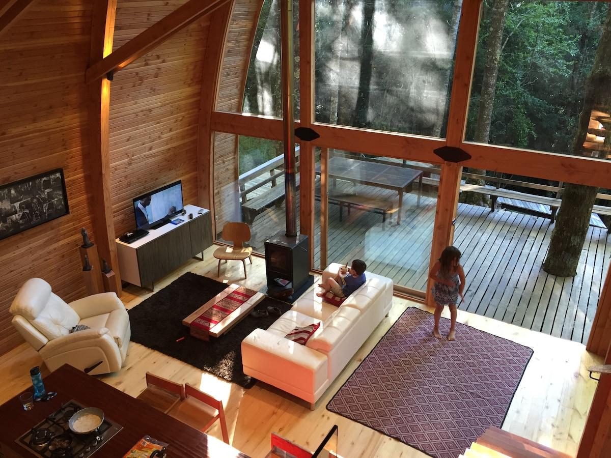 casa familiar huilo huilo airbnb