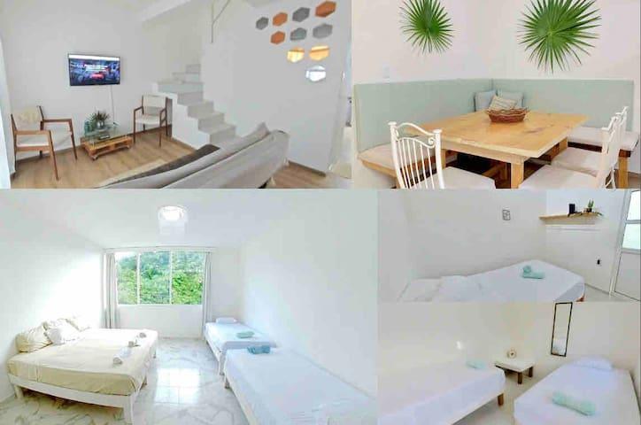 Bonita y amplia casa en privada tranquila y segura