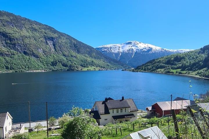 Hus ved Sognefjorden  Sogndal