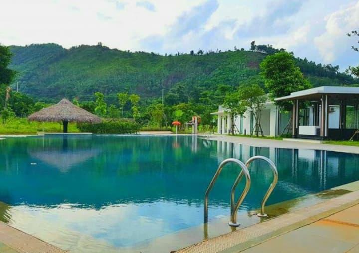 Garden Villa - Villas for rent in Xanh Villas