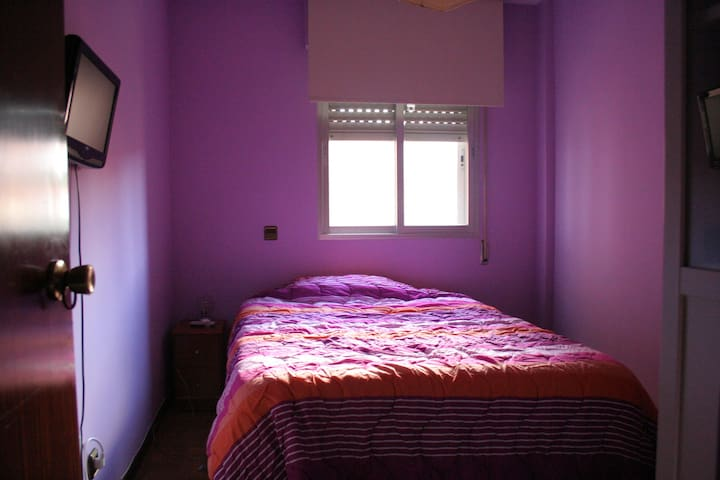 Quiet family bedroom next to metro - Rivas-Vaciamadrid - Daire