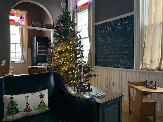 Luxury Schoolhouse Retreat