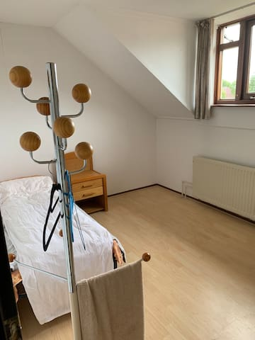 a nice room, close to train and bus stations.