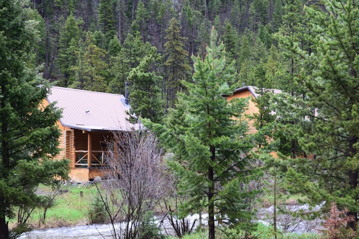 Potosi Hot Springs and Cabin Rentals TROUT CABIN
