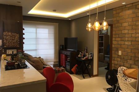 Apartamento LINDO no Continente, 10m de Floripa! - São José - Apartment