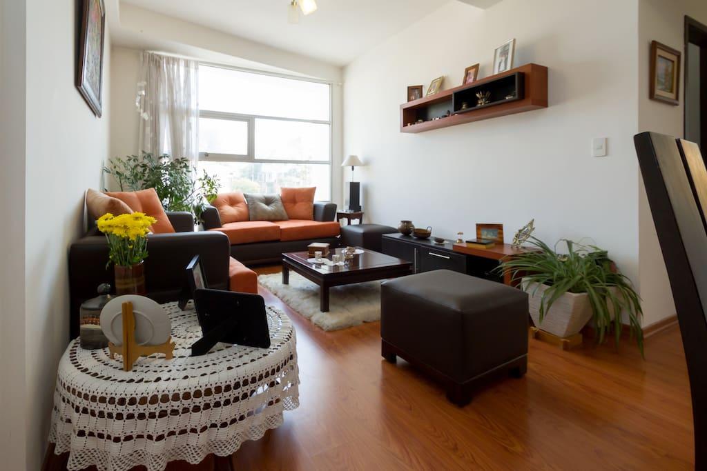 Habitaci n en lindo departamento apartamentos en for Alquiler habitacion departamento